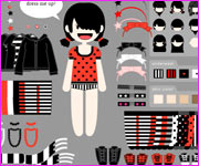 Dress Up EMo Girl